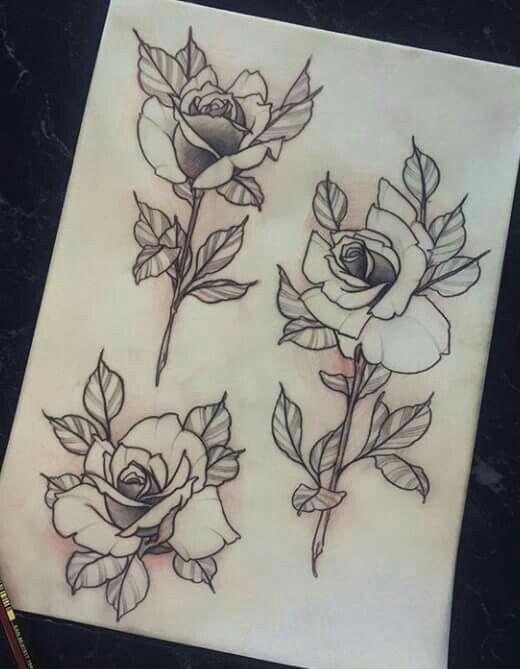 Tattoo rosa BODY MODIFICATION Pinterest Rosas, Tatuajes y Flores - tatuajes de rosas