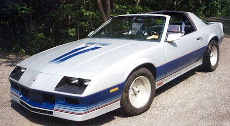 1982 Camaro Z28 Indy Pace Car  Cars  Pinterest  Cars