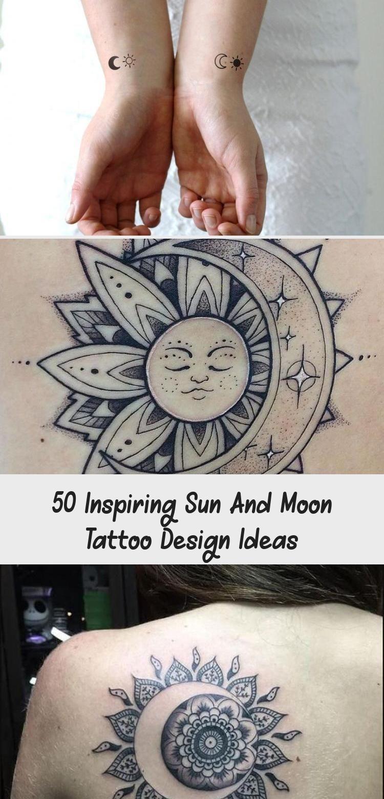 Photo of 50 Inspiring Sun And Moon Tattoo Design Ideas #tattooideasColorful #tattooideasH…