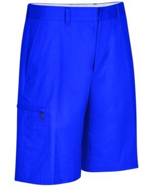 Greg Norman for Tasso Elba Men's 5 Iron Performance Golf Shorts - Blue 38