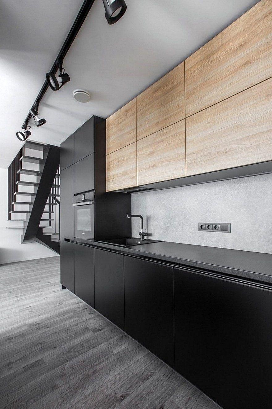 Burbiskiu Apartment Vilnius Rimartus Design Studio Kitchen Design Kitchen Room Design Kitchen Furniture Design