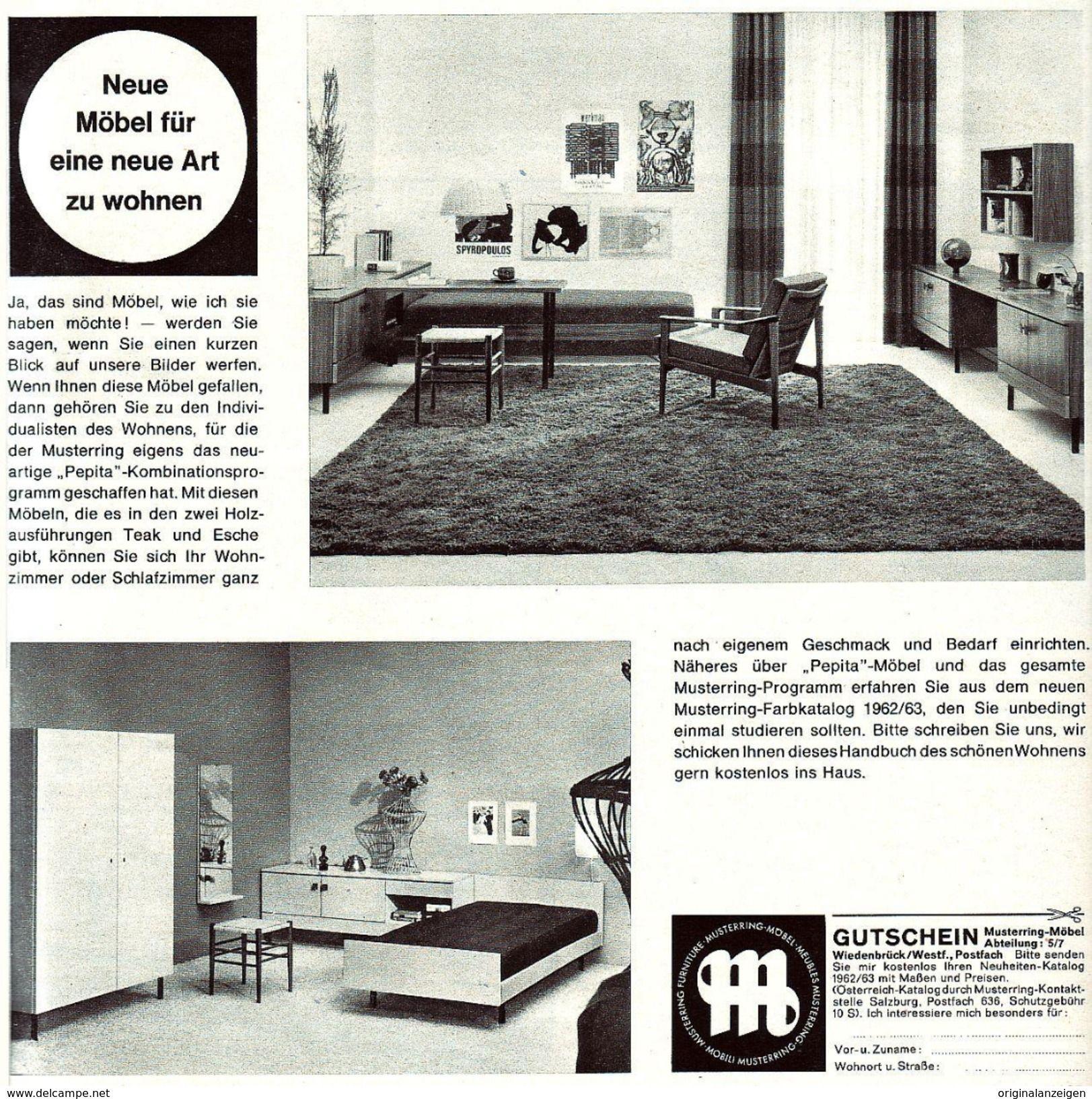 Original-Werbung/ Anzeige 1962