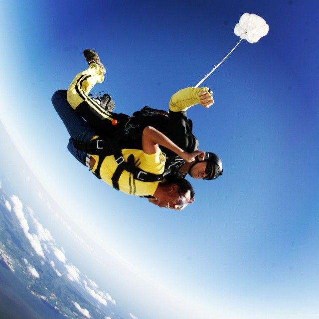 Salto tándem en paracaídas #EsLaBuenaVida #Momentos #Sublime #Dios ...