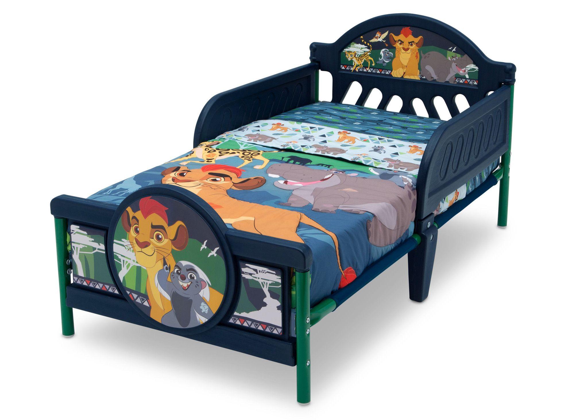 The Lion Guard 3d Toddler Bed Toddler Bed Bed Toddler Bedrooms