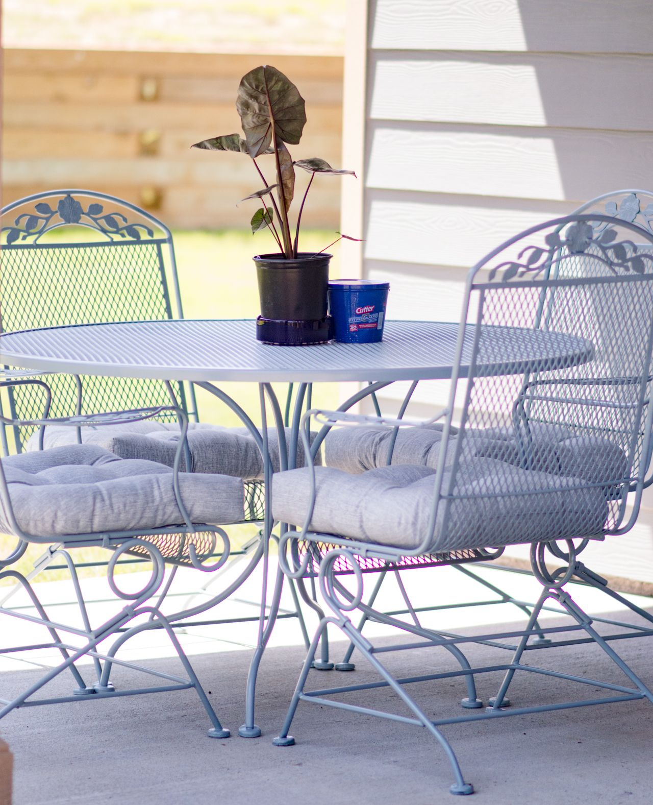 Diy Patio Furniture Makeover  Check Out Our New Repurpused