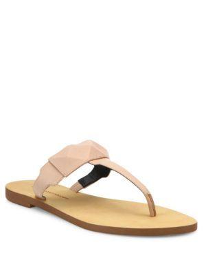 Eloise Studded Leather Sandals Rjd037n