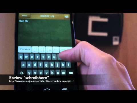 Die #SchreibHero App für Schüler