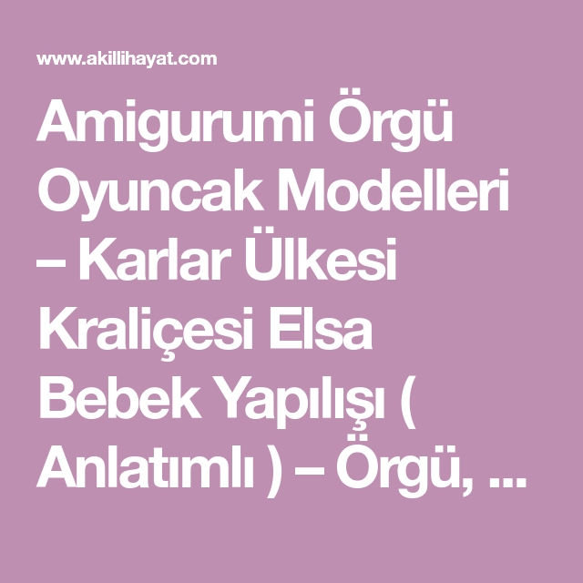 AMİGURUMİ CİVCİV - Açıklamalı Modellerimiz | Amigurumi, Amigurumi ... | 640x640