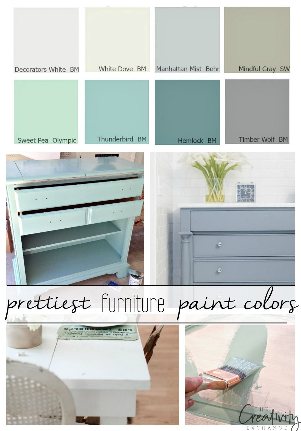 4 of the Best Paint Colors for Painting Furniture  Pretty