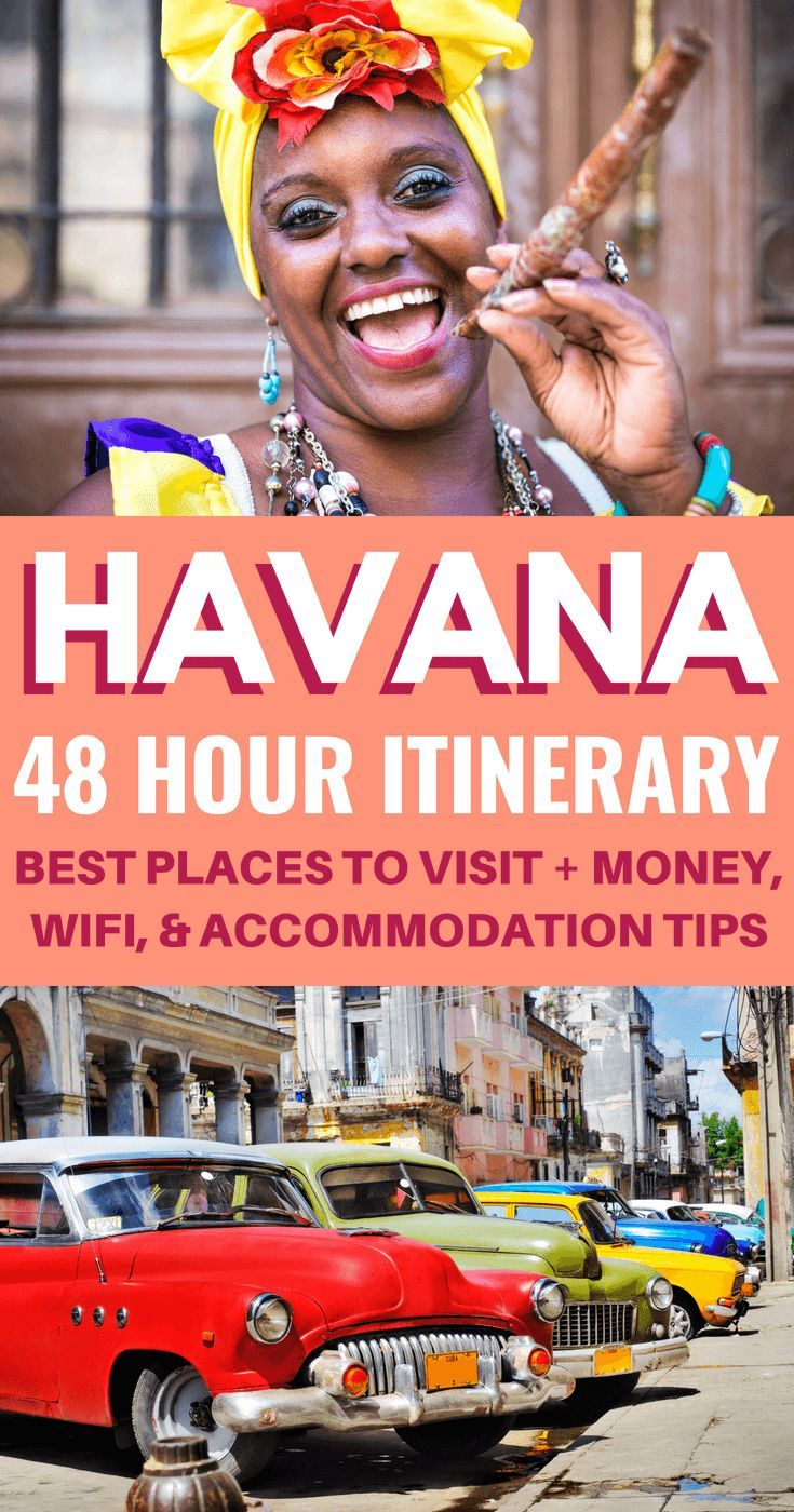 How To Spend 48 Hours in Havana: Cuba Travel Guide #visitcuba