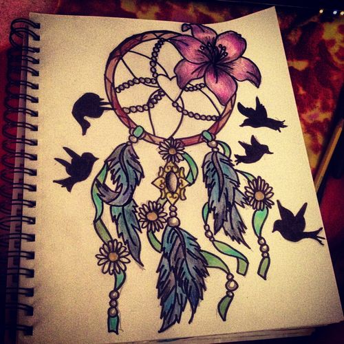 dream catcher drawing tumblr draw pinterest dream