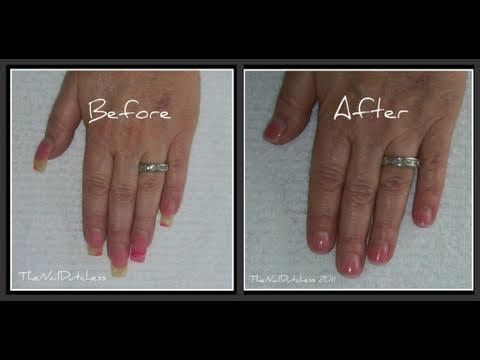How To Shorten Long Acrylic Nails Acrylic Nails At Home Long Acrylic Nails Acyrlic Nails