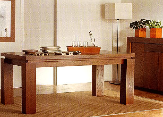 Mesa de comedor extensible Colonial Zen | Zen | Entryway tables ...