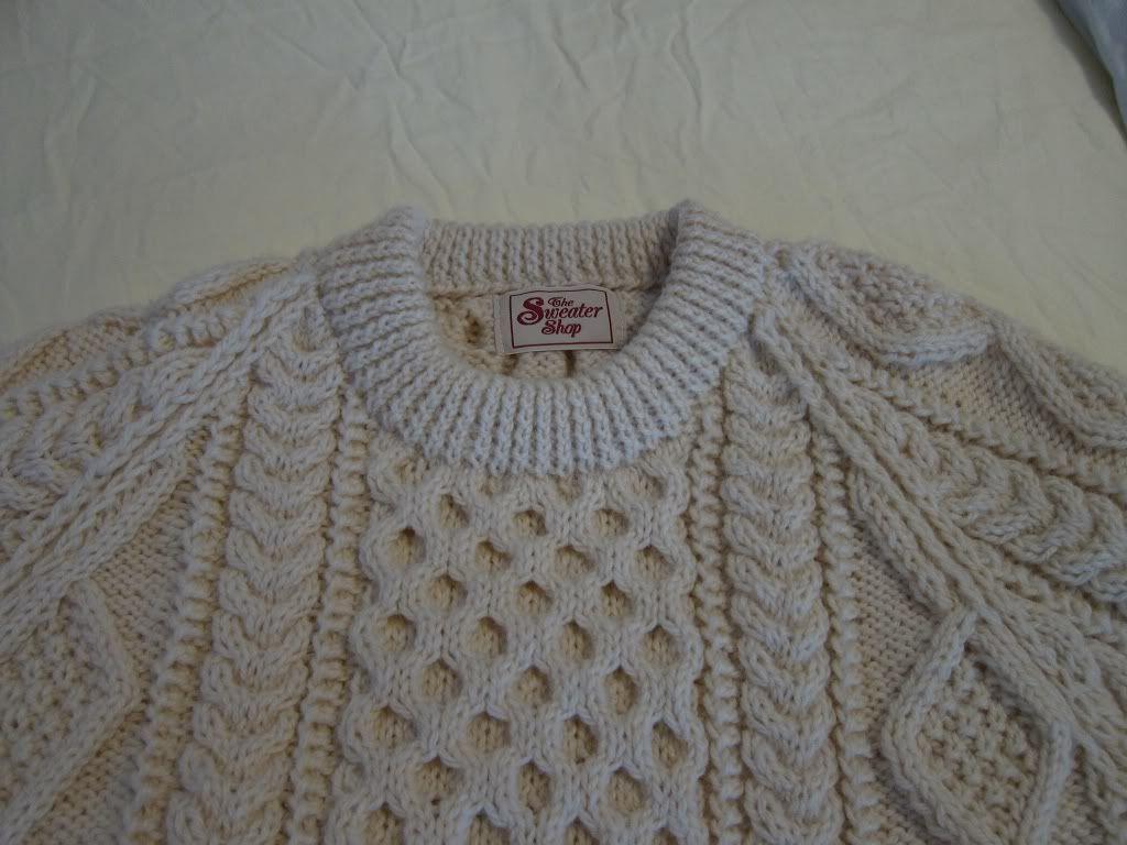 Fisherman Knit Sweater Pattern : fisherman knit sweater This sceptred isle ... Pinterest