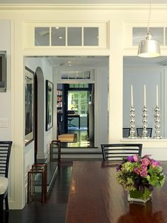 interior windows between rooms Google Search House Pinterest
