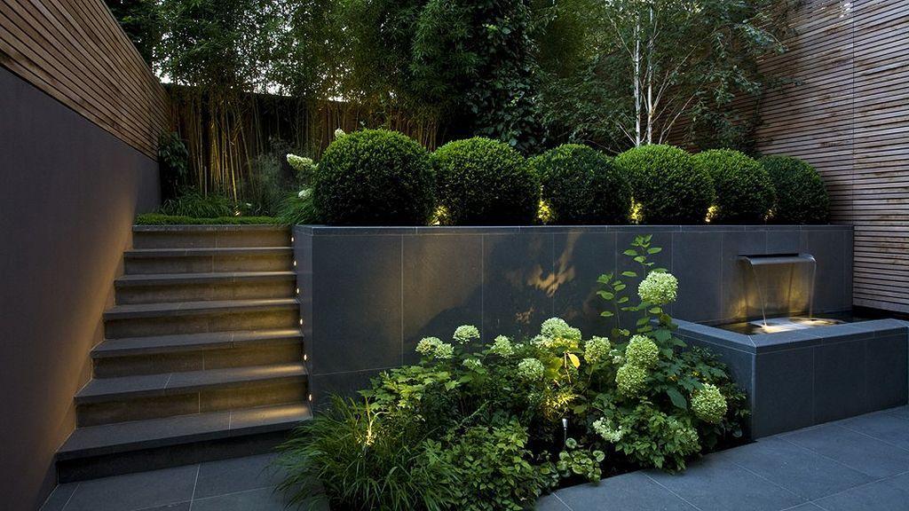 Best Design Budgeting Large Outdoor Planters (10)   Sloped ...