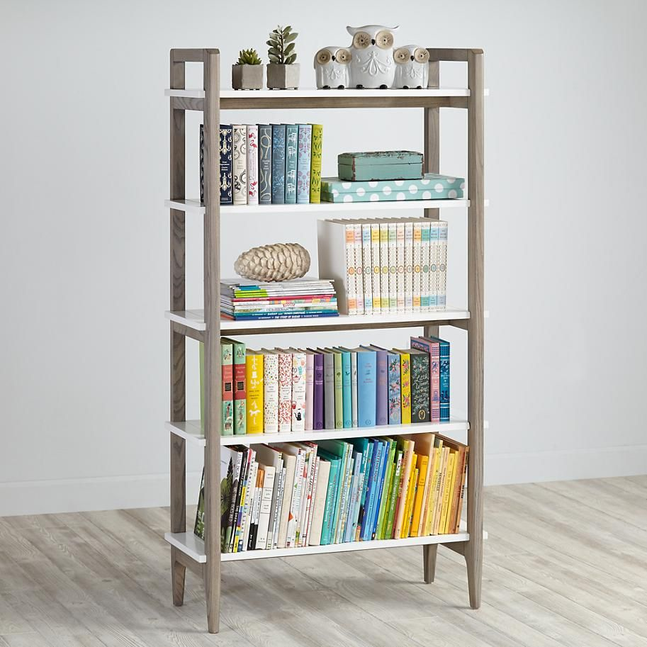 ne short kids bookcases bookcase school house raw magnifier white vertical