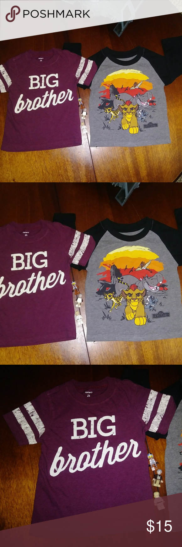 3f8c42b53c069 Boys 2T Toddler Shirt Bundle Carter's Big Brother 2 cute shirts in this  bundle! Perfect for your little one. Make an offer. Preloved.