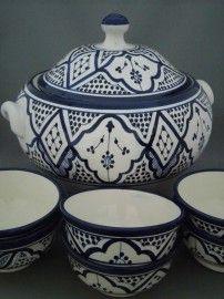 Marokkaanse soepterrine