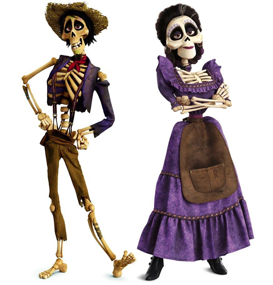 Hector and Imelda of Land of the Dead from Coco Gemelli Halloween 4aeb3854de50