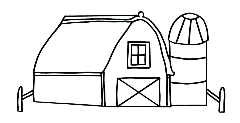 Farm House Coloring Pages Farm House Coloring Pages For Kids