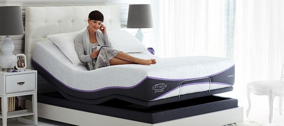 Sealy Optimum Mattress Elation Gold Adjustable Bed Frame