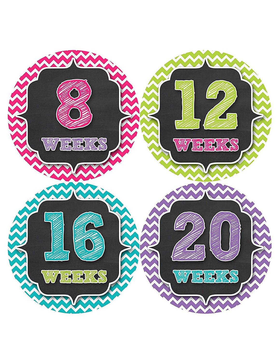 Great Pregnancy Gifts for Mom to Be Pregnancy Weekly Stickers Pregnancy Milestone Belly Stickers