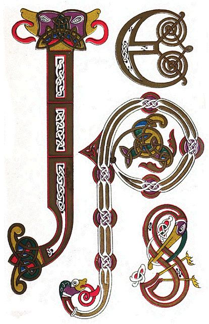 decorative letters 10th century looks like scrambled pjs monogram pjs pinterest. Black Bedroom Furniture Sets. Home Design Ideas