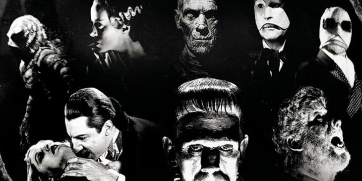 Universal Monsters Wallpaper Vintage Horror Movies Classic