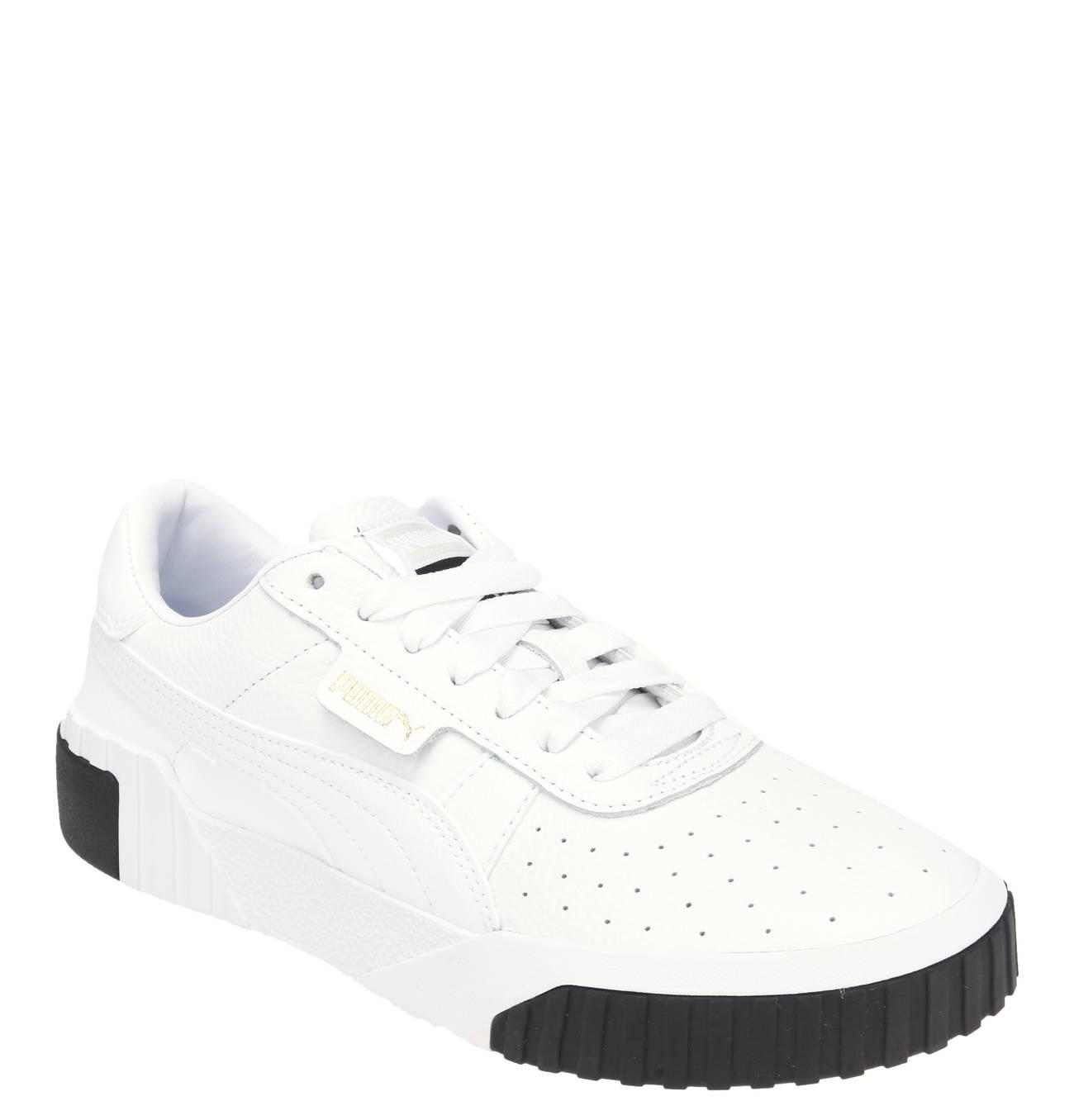 Sneaker Cali Leder Logo Patch Schnurung Turnschuhe Puma Sneaker Und Leder