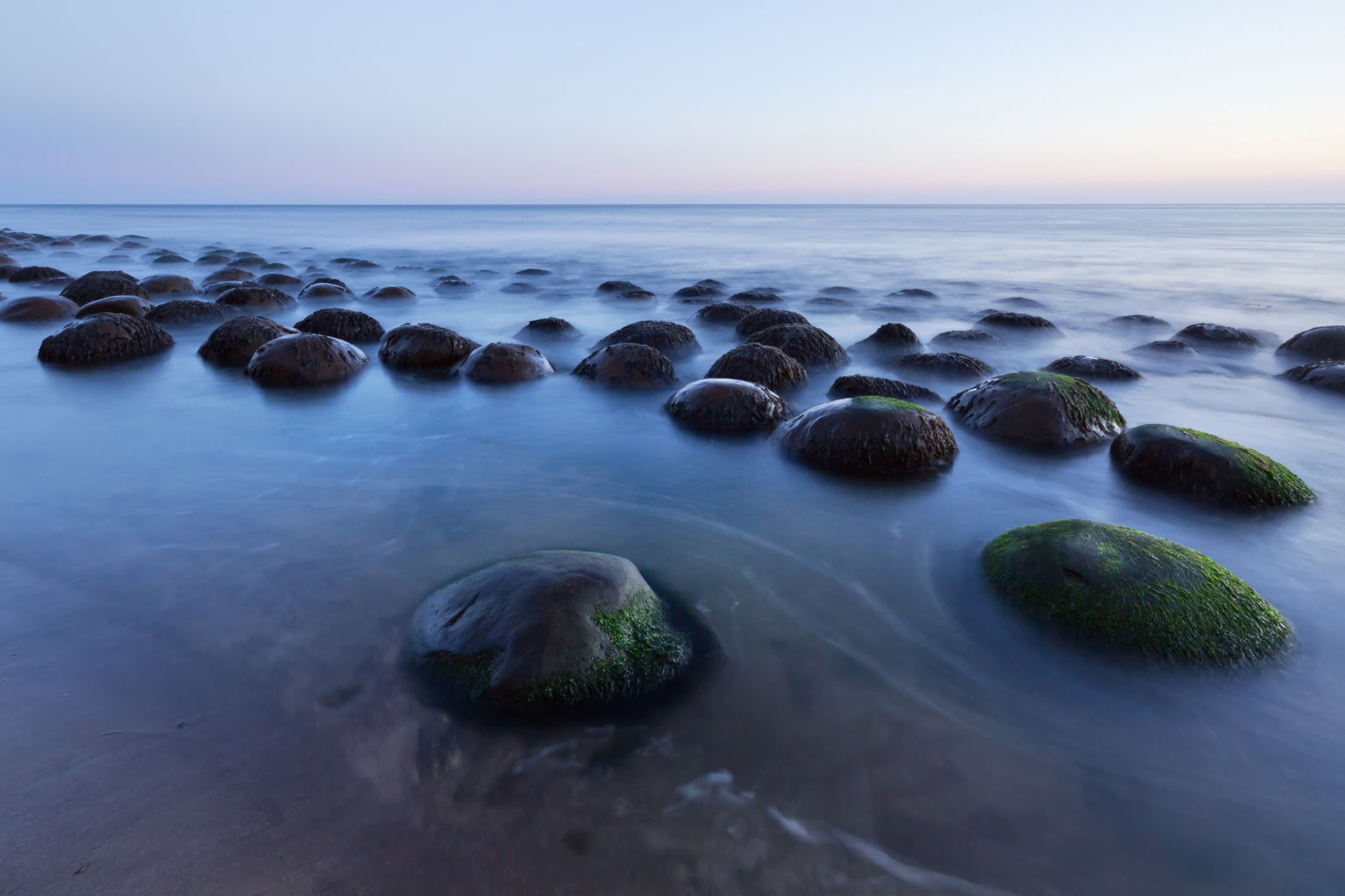 Can You Spare Some Time for a Visit to Bowling Ball Beach