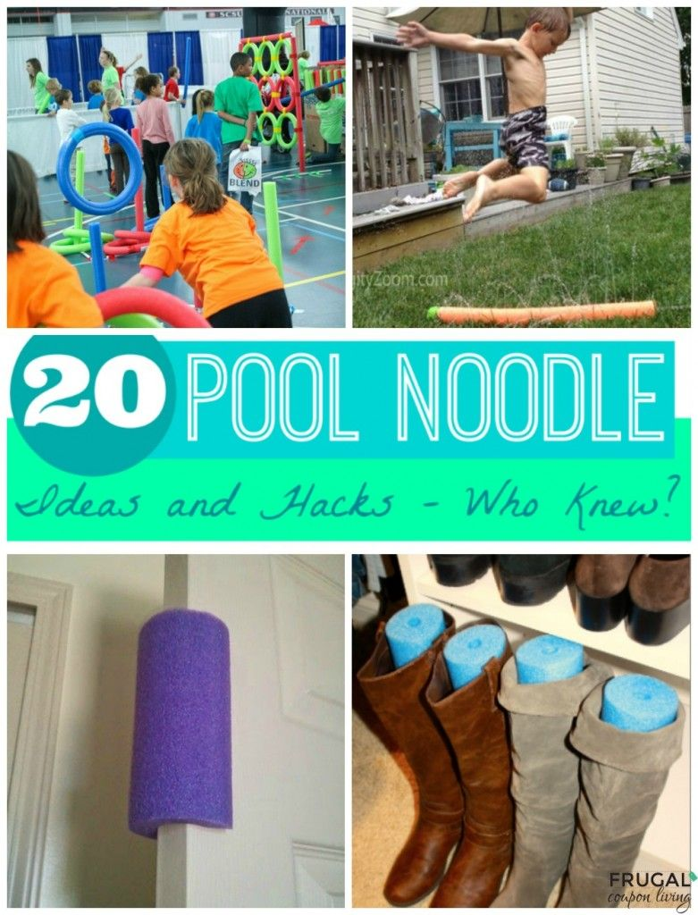 20 Pool Noodle Ideas and Hacks Who Knew? Pool noodles