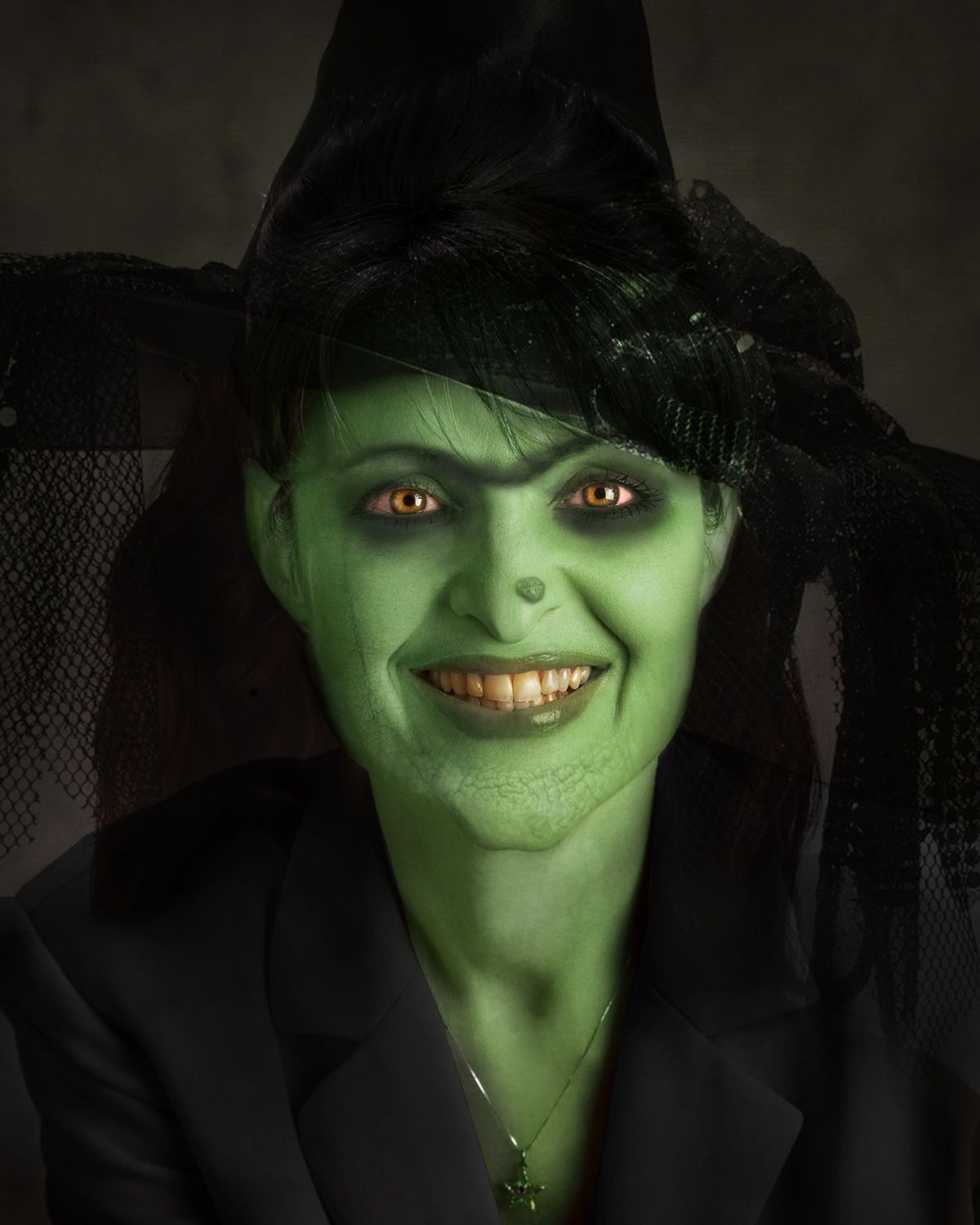 witch makeup | ... with makeup take this picture of sarah palin ...