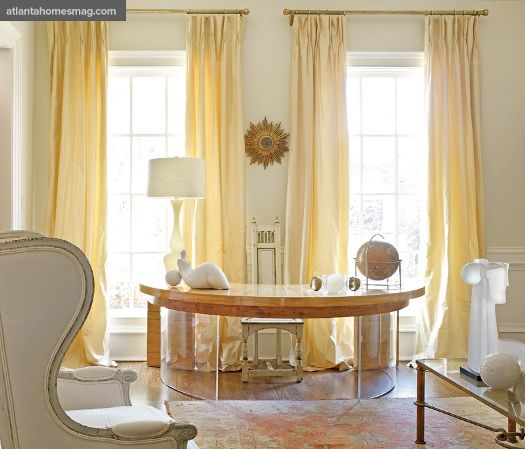 Verdigris Vie Brighten Up Home Yellow Curtains Living Room Panelling