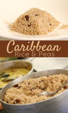 Authentic Caribbean Rice & Peas Recipe!