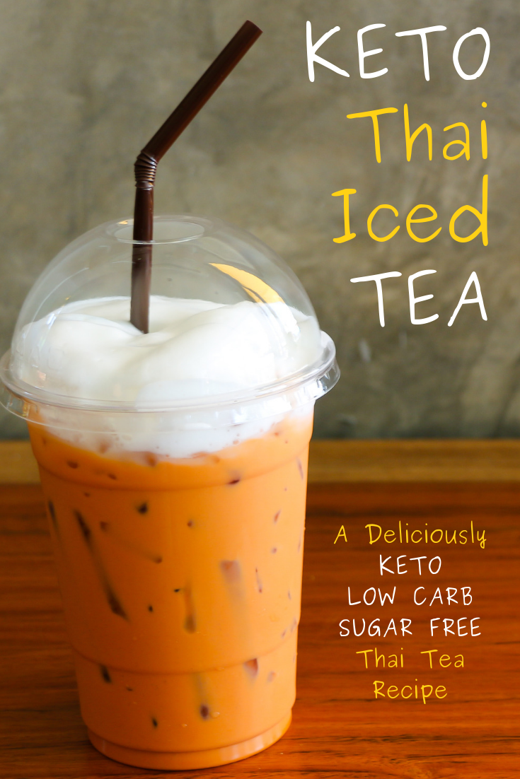 Photo of Keto Thai Tea Recipe: No Sugar, Low Carb Thai Iced Tea – ConvenientKeto