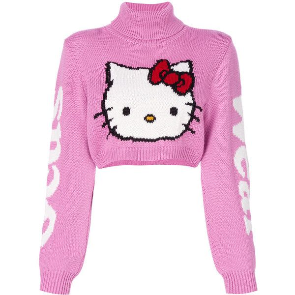 Gcds Hello Kitty jumper ($270) ❤ liked on Polyvore