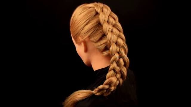 Five strand French braid hairstyle is not hard to create and has the great look.Five Strand French BraidStep By Step InstructionsStep 1: First step, take a section of hair from the top front section of the head. Split it into 3 parts to left and middle then right. Make one ...
