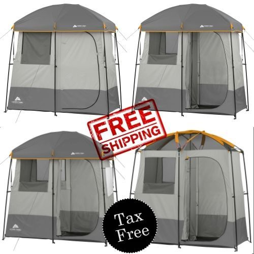 2 Room Instant Shower Utility Shelter Ozark Trail Outdoor Tents