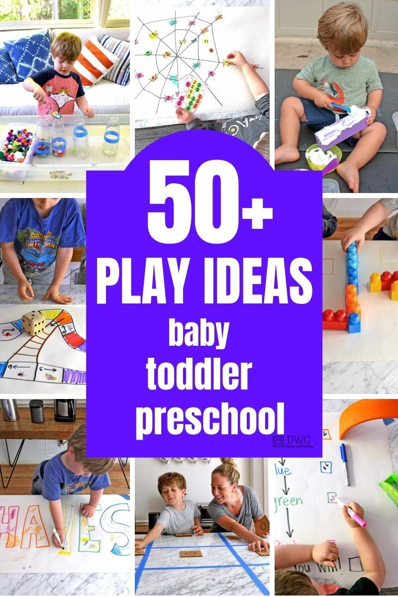 Play Ideas For Toddlers And Preschoolers Inside You Will Find