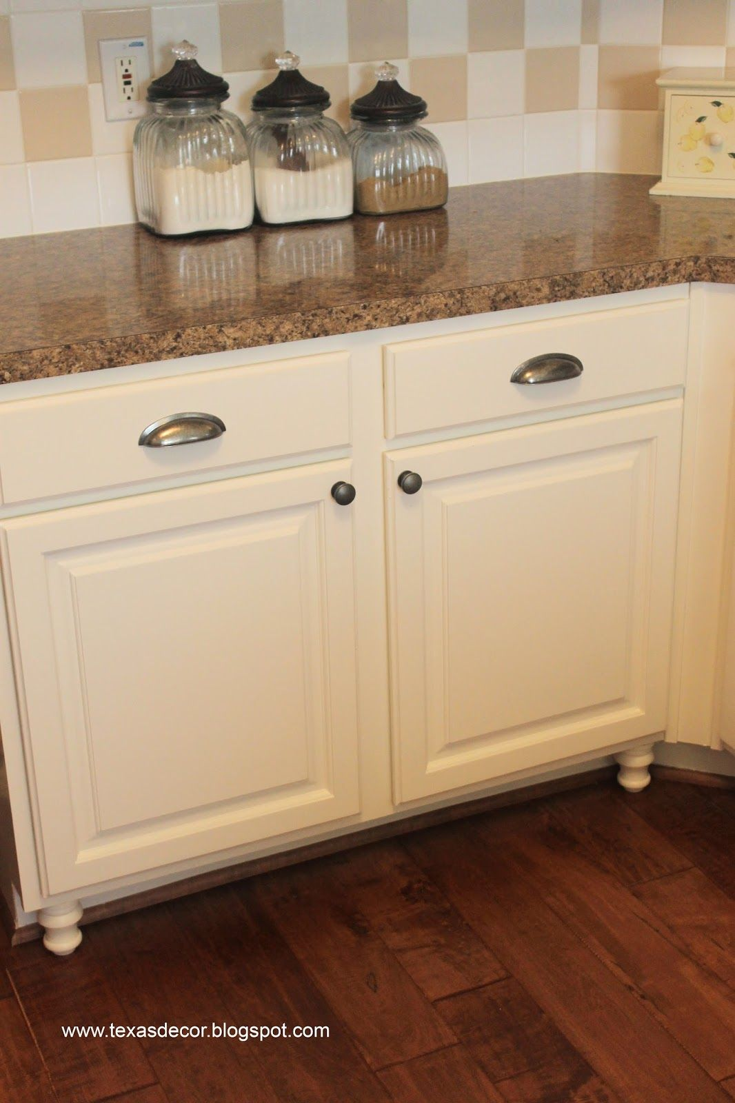 Texas Decor Painted Kitchen Cabinet Reveal Kitchen Paint Kitchen Painting Kitchen Cabinets
