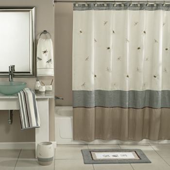 Home Classics 174 Shalimar Dragonfly Shower Curtain