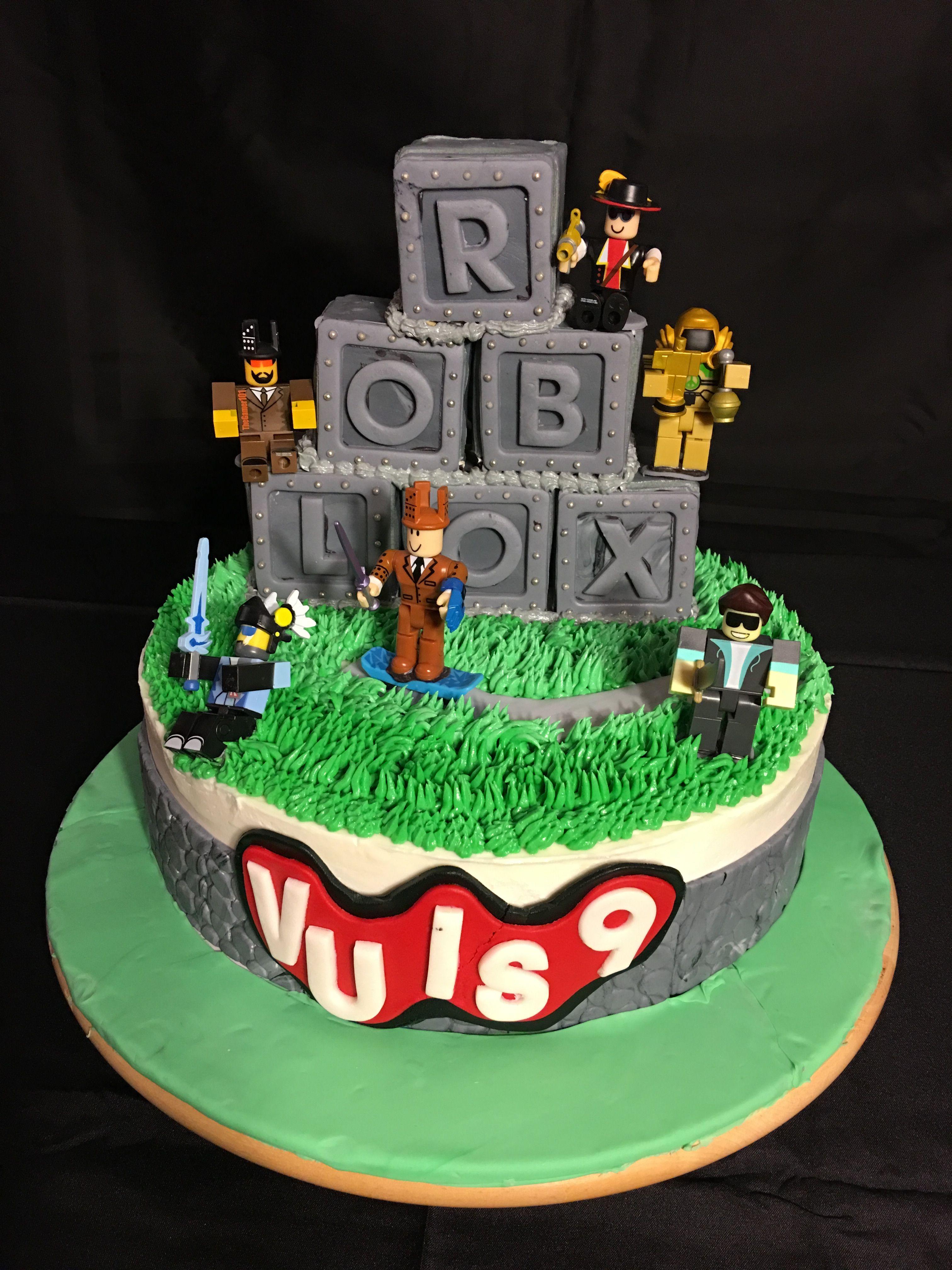 9th Birthday Cake Roblox Birthday Cake Fiesta De Cumpleanos