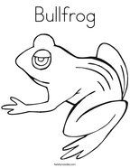 Bullfrog Coloring Page Coloring Pages Animal Coloring Pages Color