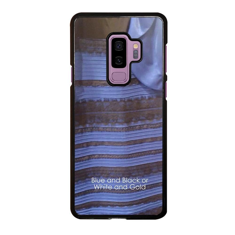 Blue And Black Or White And Gold Samsung Galaxy S9 Plus Case Cover Samsung Galaxy S9 Samsung Galaxy Samsung
