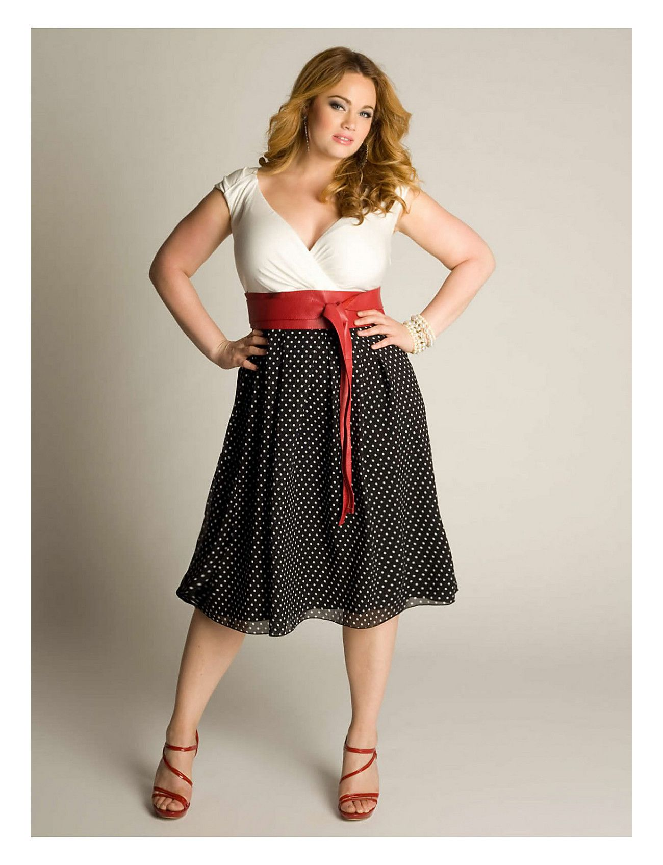 0917ce430b1 The Millie  Vintage Polka Dot Dress from  IGIGI is sexy