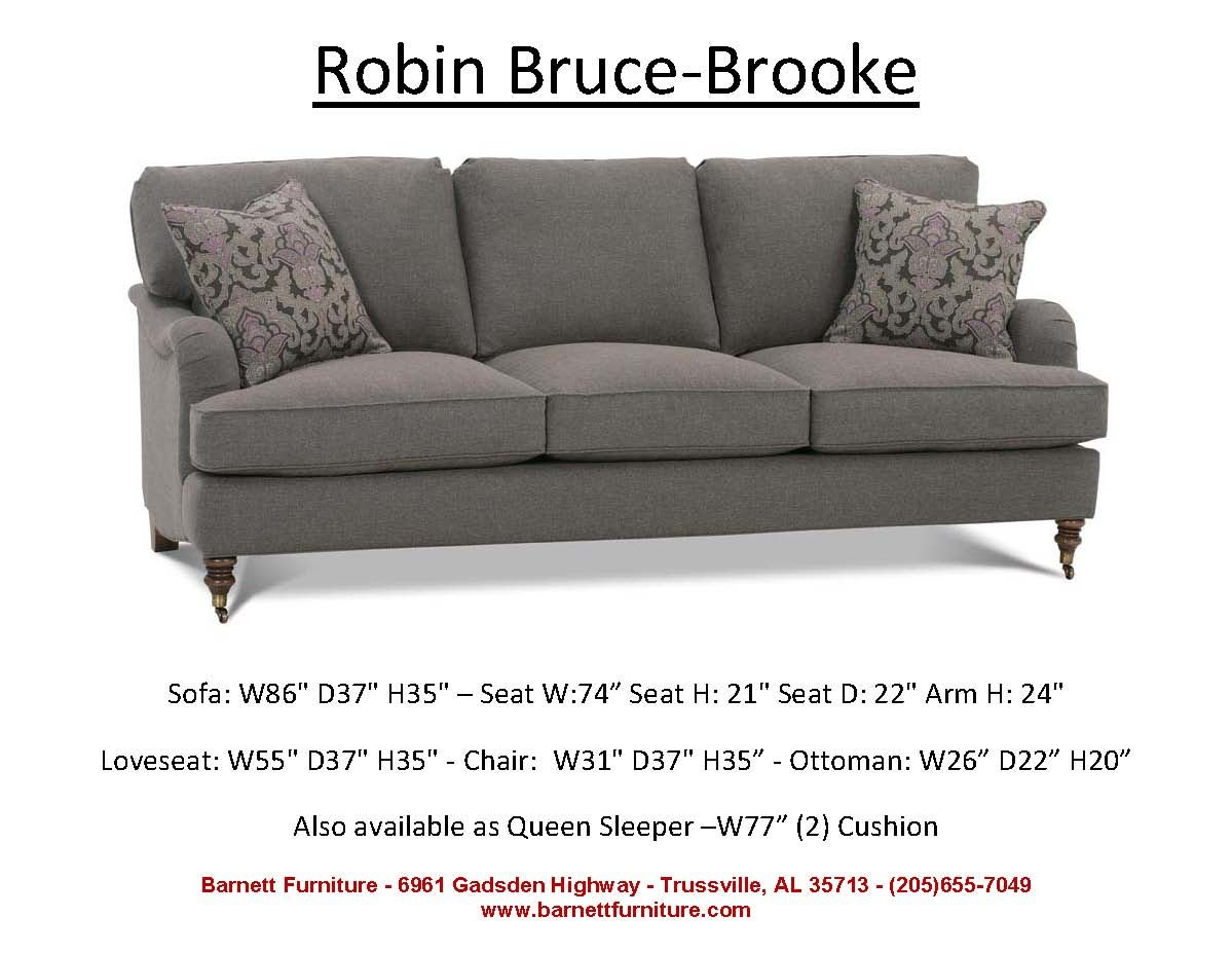 Robin Bruce Brooke Sofa You Choose the Fabric