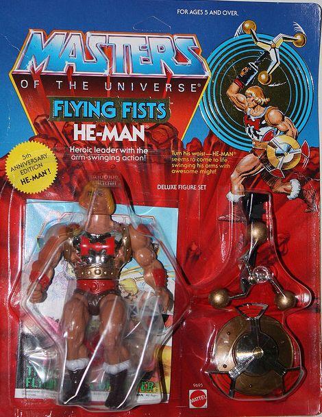 Swinging action toys