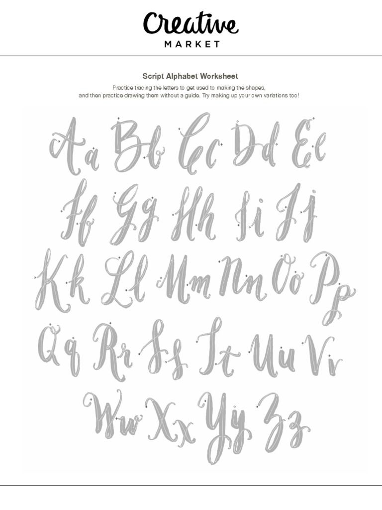 47++ Learn calligraphy worksheets Free Download