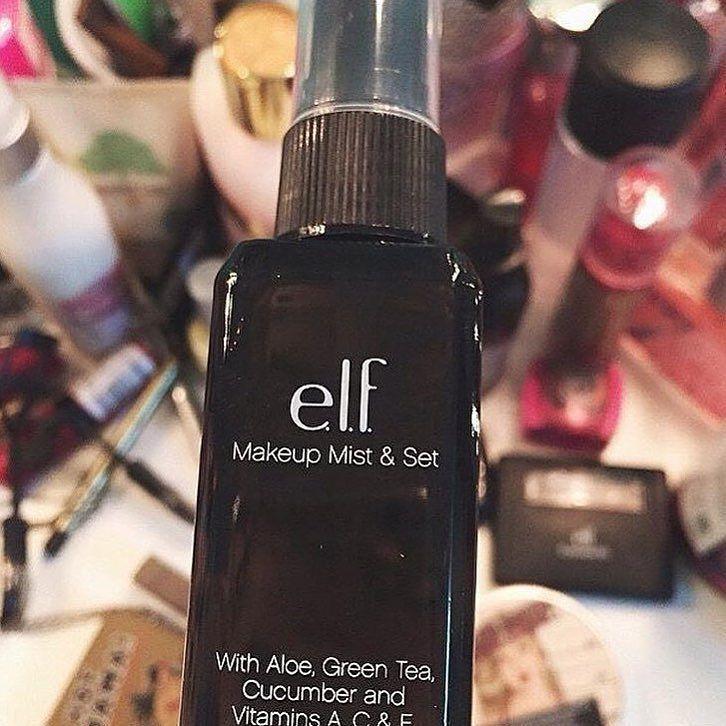 Instagram Green Tea Elf Makeup Perfume Bottles